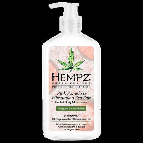 Hempz Fresh Fusions Pink Pomelo & Himalayan Sea Salt Herbal Body Moisturizer17oz
