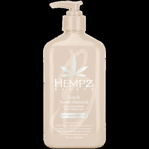 Hempz Beauty Koa & Sweet Almond Daily Moisturizer 17oz