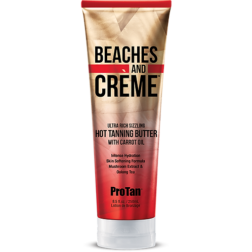 Beaches and Creme Sizzling Tanning Butter 8.5oz