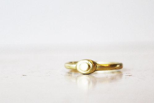 14k Gold Unique Ring