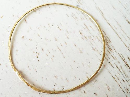 Classic 14k Gold Bangle Bracelet