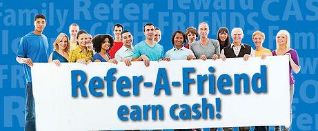 Referrals, $50, taxes, earn cash
