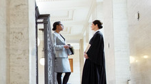 Gender-based honorifics no longer required when female counsel introduce themselves to the Court