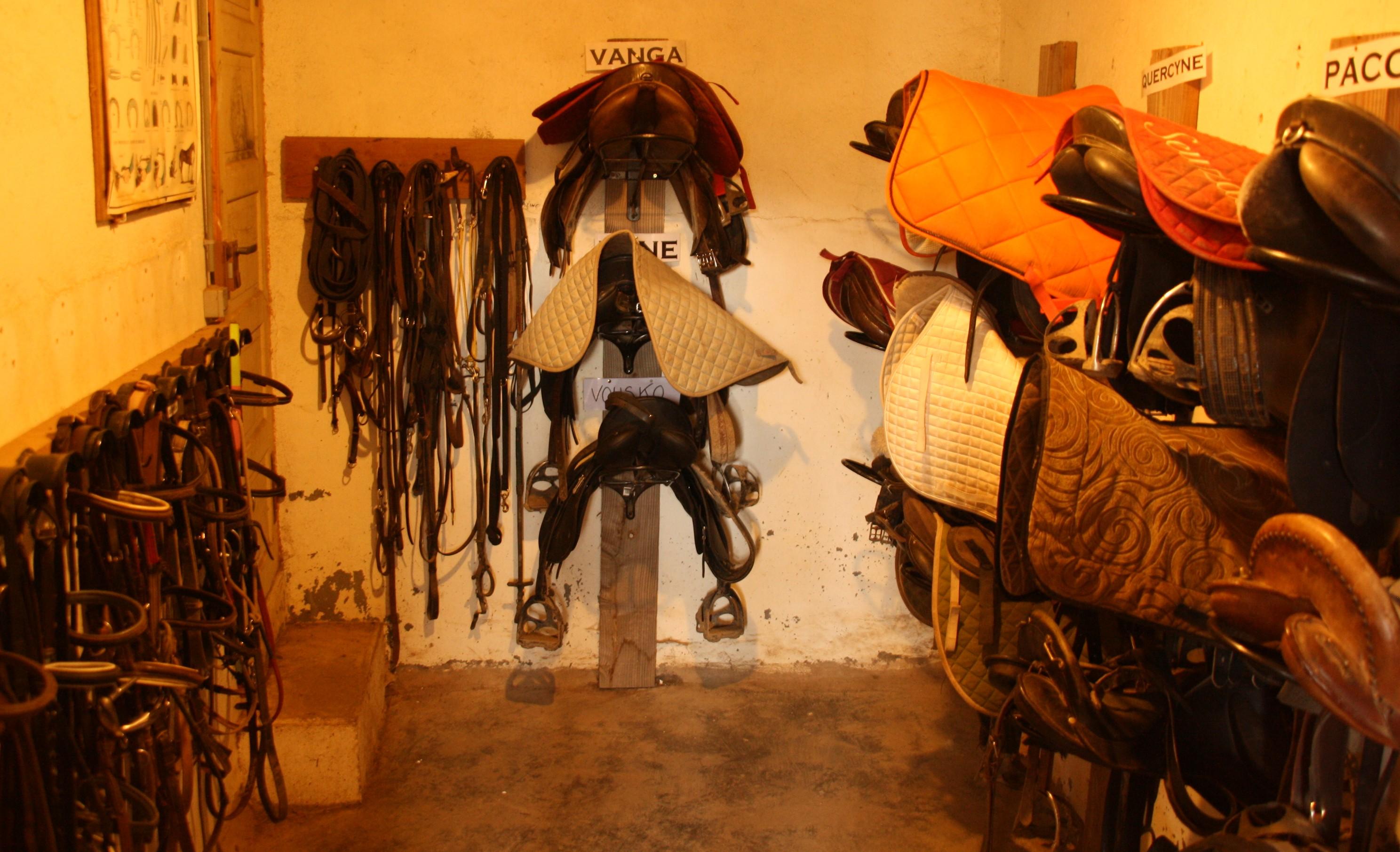 Ecuries de Seuzac sellerie chevaux