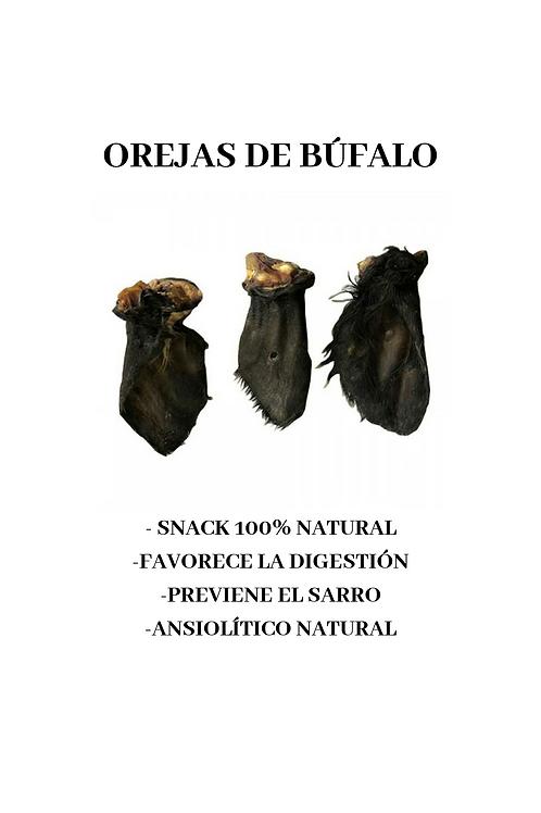 OREJAS DE BÚFALO CON PELO