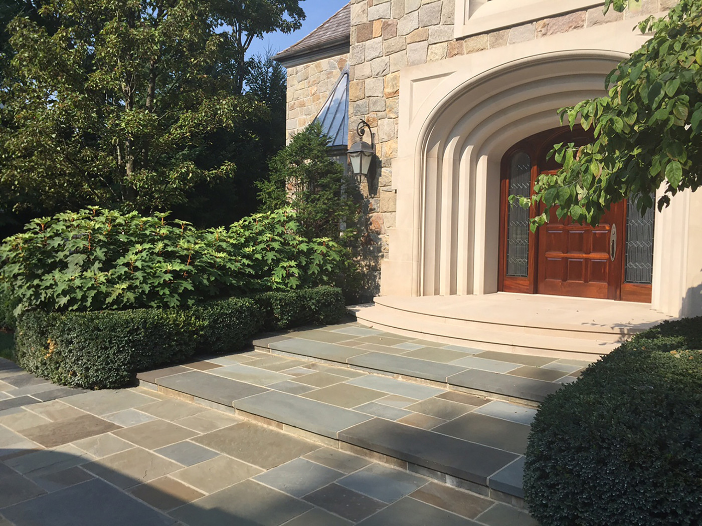 Bluestone and Limestone Paving