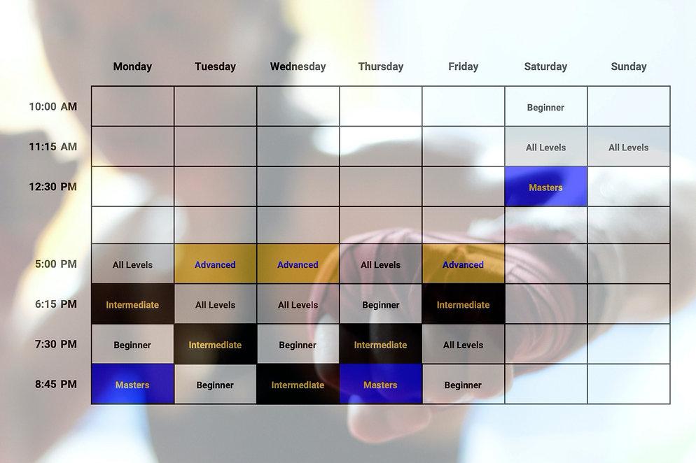 RingSport Schedule - September 2020
