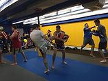 Muay Thai, Pad Work, Ringspot