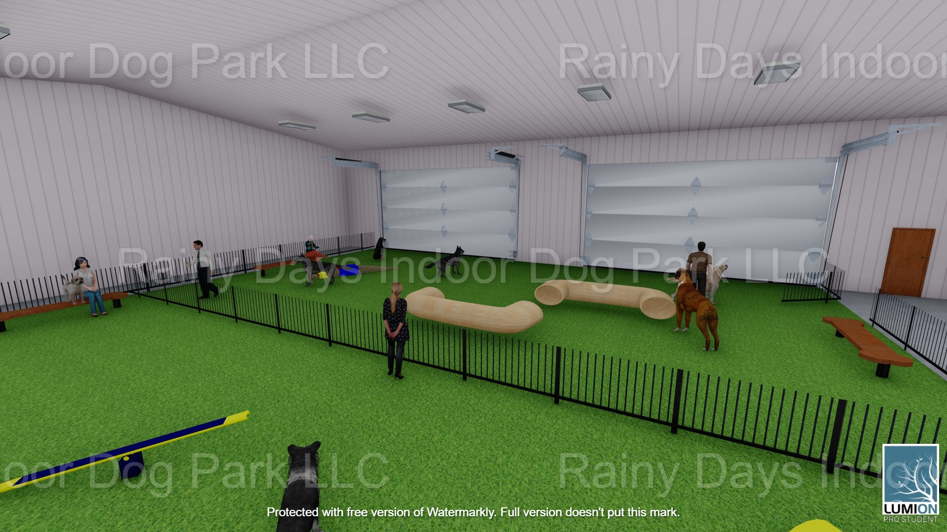 Private party park rental
