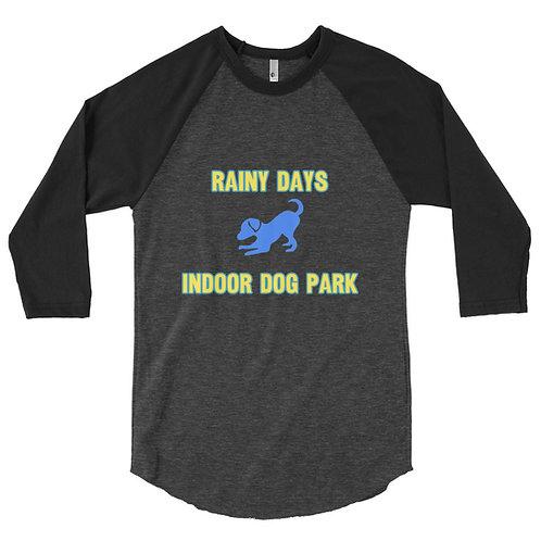Men's 3/4 Sleeve Baseball Shirt