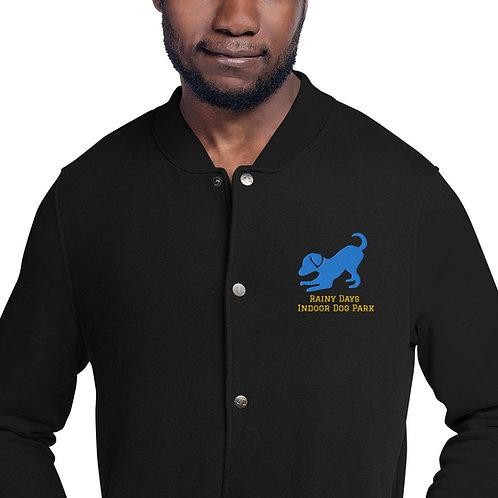 Men's Embroidered Champion Bomber Jacket