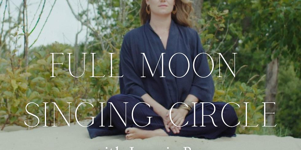 Full Moon Singing Circle JULY