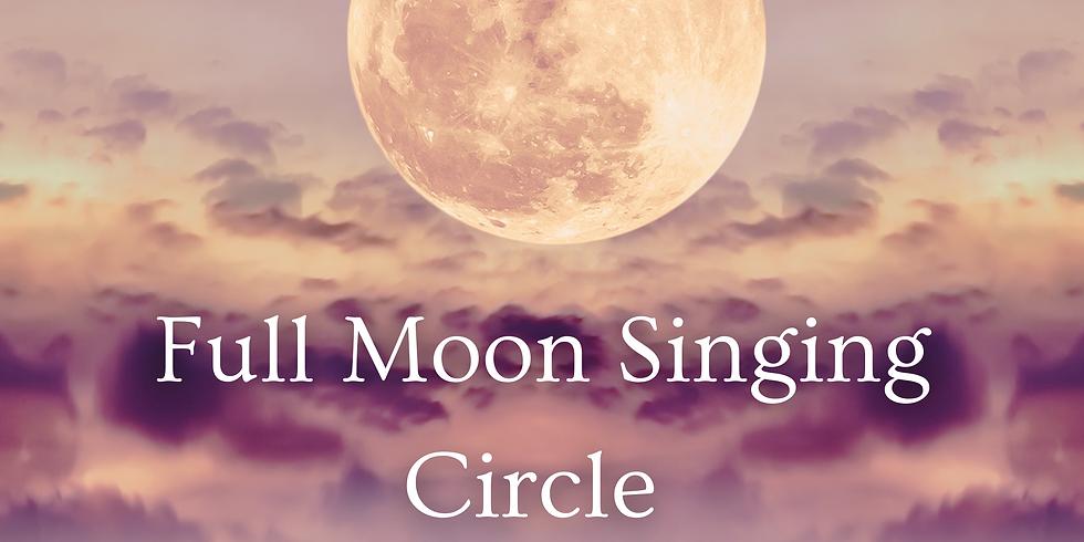 Full Moon Singing Circle October