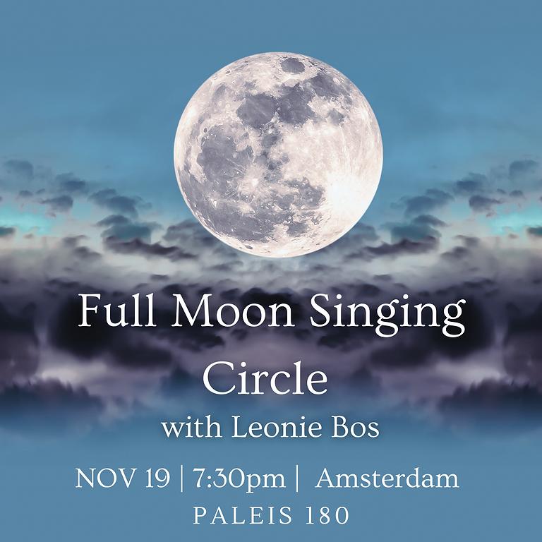 Full Moon Singing Circle November