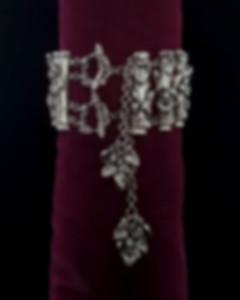 Handmade jewelry,  botanically inspired fine jewelry, handcrafted nature inspired sterling silver bracelet, artisan designer bracelet