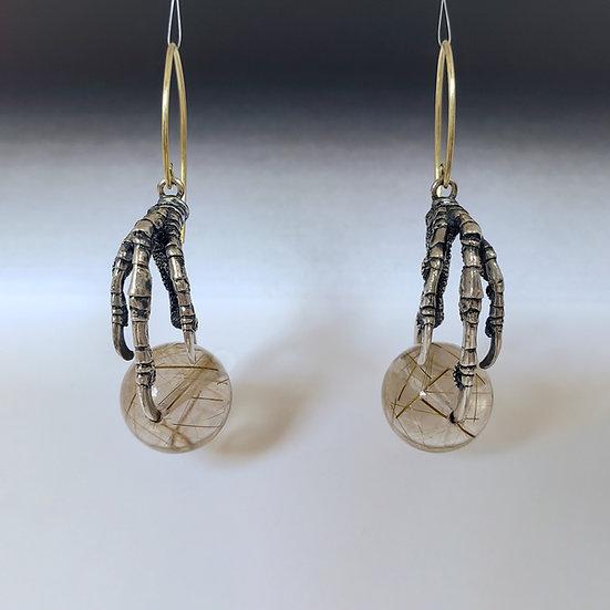 birdfoot earrings