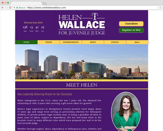 Vote Helen Wallace