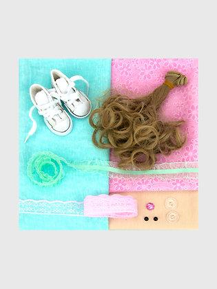 Набор материалов для шитья куклы 3510