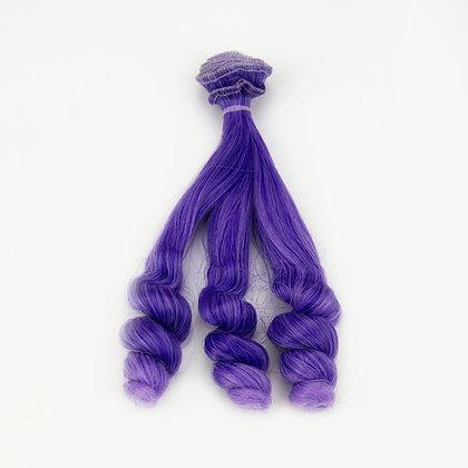 Волосы-трессы для кукол локон 15 см