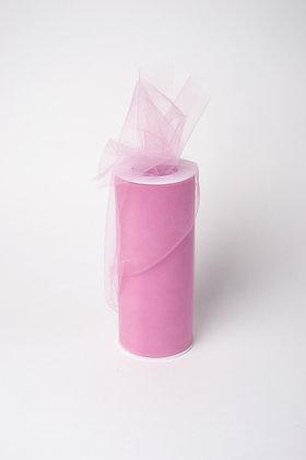 Фатин пепельно-розовый