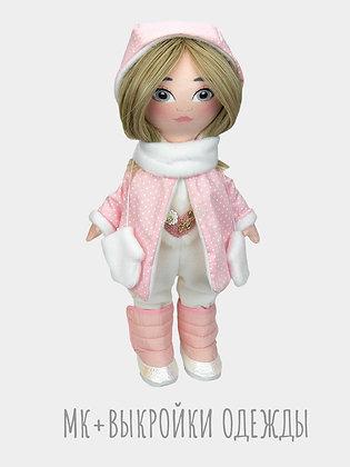 МК+выкройки кукольной одежды