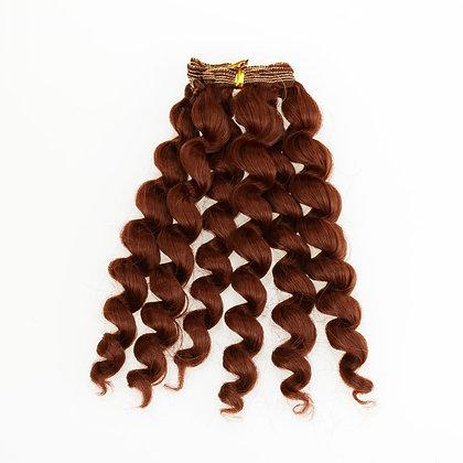Волосы-трессы для кукол спираль 18 см