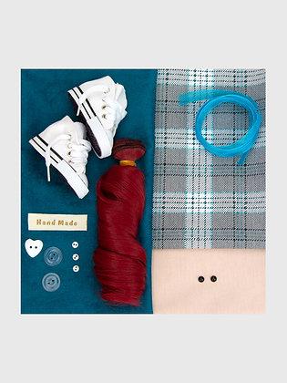 Набор материалов для шитья куклы 3508