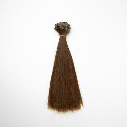 Hair for dolls straight 20 cm