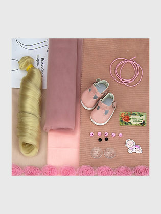 A set of materials for sewing dolls 2501