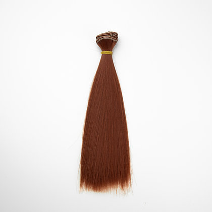 Волосы для кукол прямые 20 см
