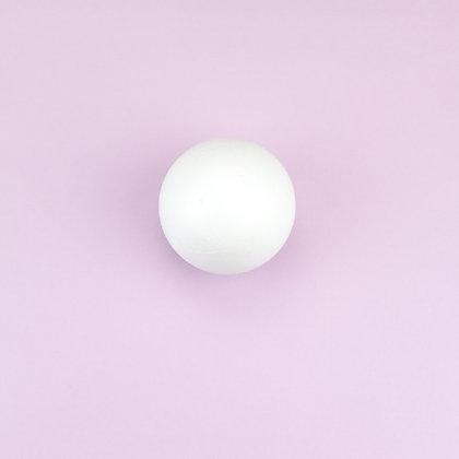 Пенопластовый шар D 6 см