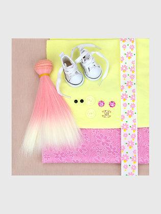 Набор материалов для шитья куклы 2504