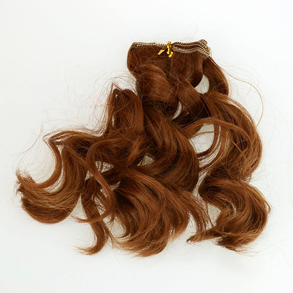 Волосы-трессы для кукол 15 см