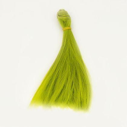 Волосы-трессы для кукол прямые 15 см