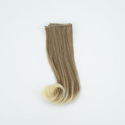 Волосы-трессы для кукол волна 15 см