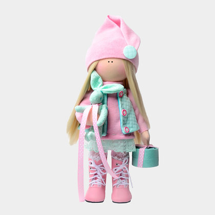 Набор для шитья куклы Влада в сапогах
