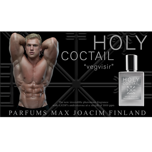"Uutuus! HOLY COCTAIL ""Vegvisir"" Edt for men"