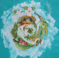 journey spiral I-Going North  Artist Mon