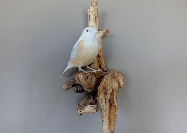 Wood carving chidkadee 007
