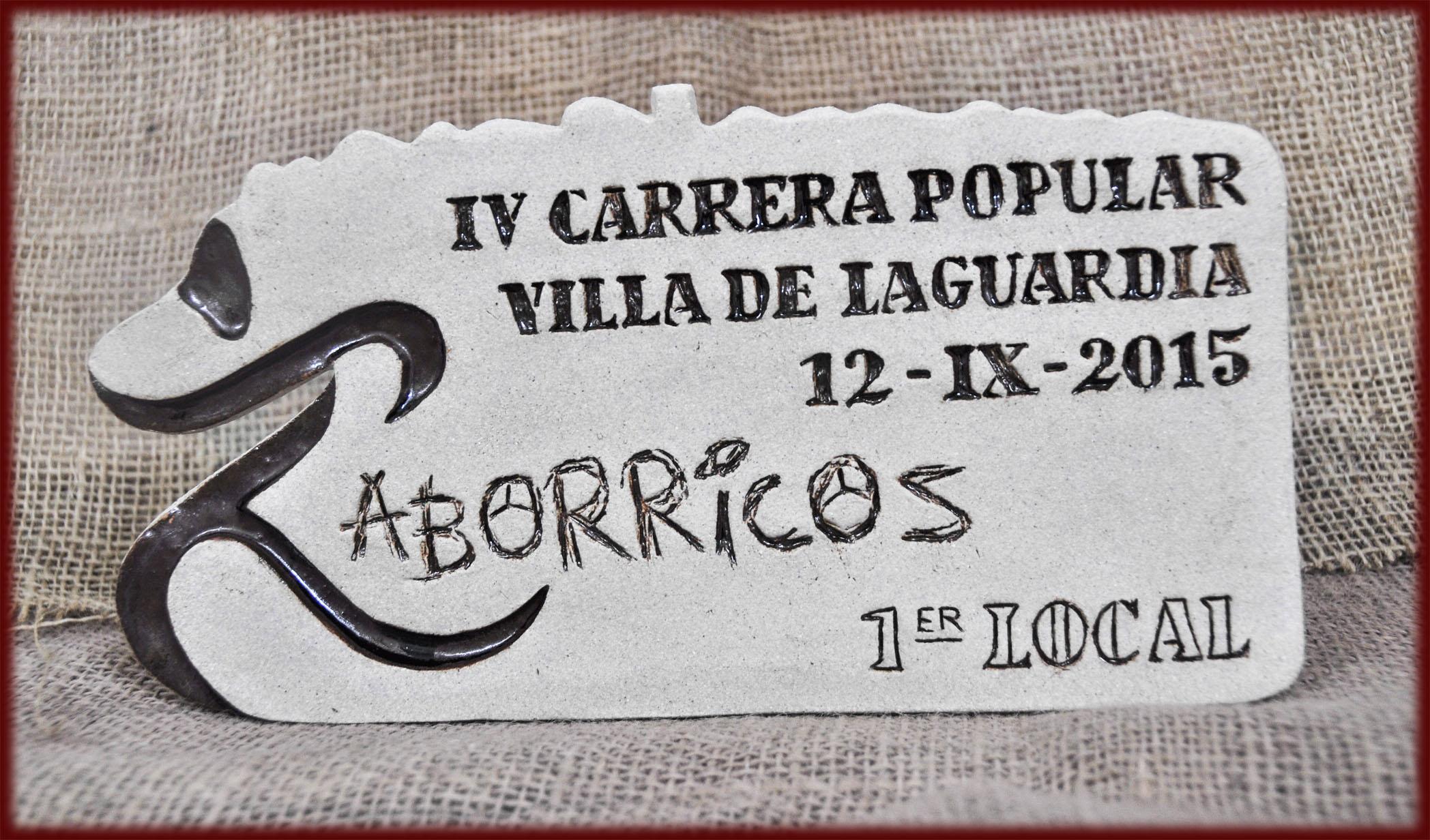 Trofeo Zaborricos 1º Local