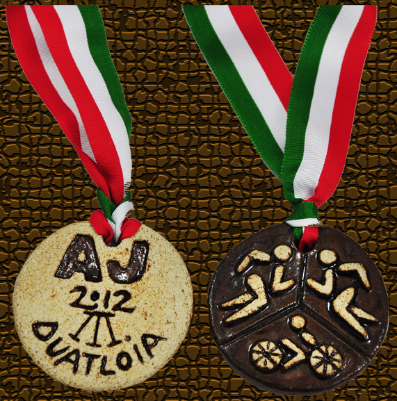 Medallas Delantera yTrasera-