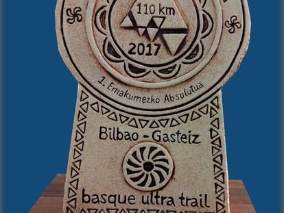 Trofeos de Cerámica para la Basque Ultra Trail Series