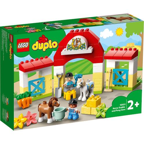 LEGO 10951 Pferdestall und Ponypflege