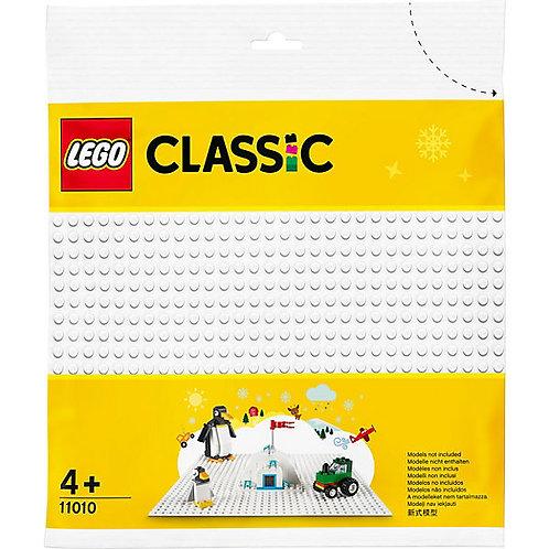 Lego Classic weiße Grundplatte