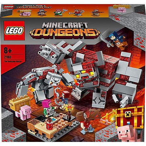 Lego Minecraft Das Redstone-Kräftemessen