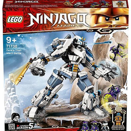 LEGO NINJAGO 71738 Zanes Titan-Mech