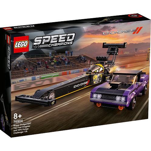LEGO 76904 Mopar Dodge//SRT Dragster & 1970 Dodge Challenger