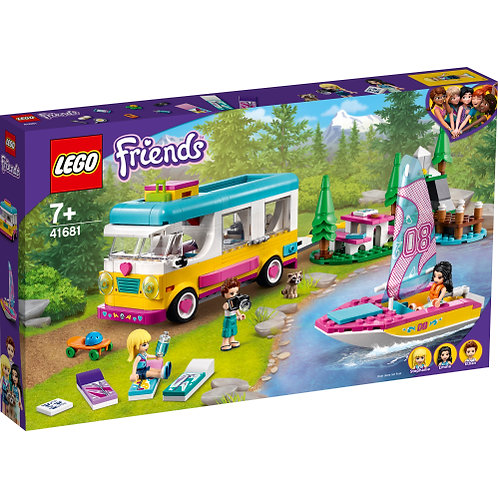 LEGO 41681 Wohnmobil- und Segelbootausflug