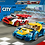 Thumbnail: Lego City Rennwagen-Duell