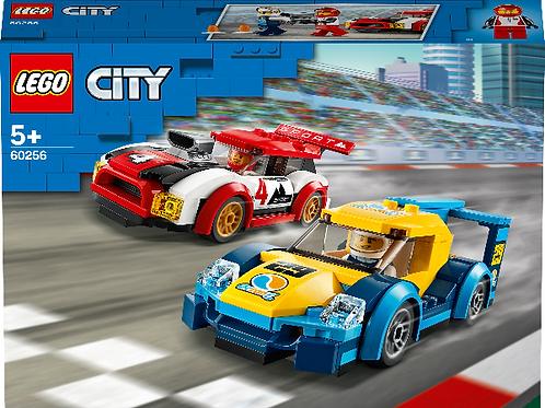 Lego City Rennwagen-Duell